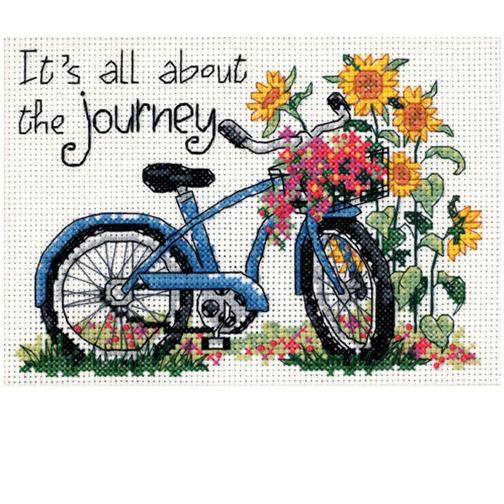 Dimensions® Counted Cross Stitch Kit, The Journey
