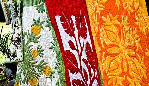 Beautiful Hawaiian Quilts