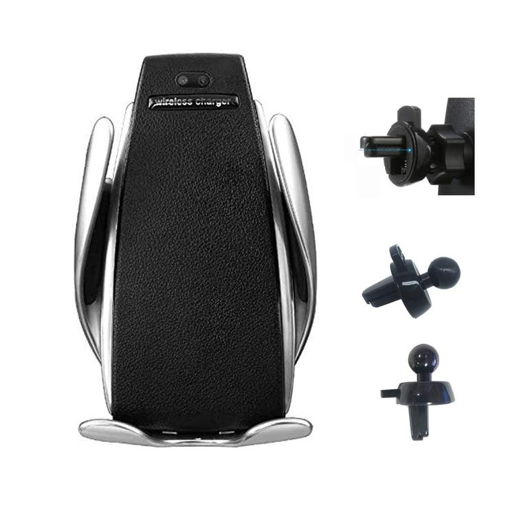 TIMESS Infrared Penguin S5 Wireless Charger,Smart Automatic Clamping Fast Wireless Car Charger Infrared Auto-sens Air Vent Mount for iPhone Xs/XR/X/8/8 Plus, Samsung S9 , S7/S7 Edge, Note9/8 * Continue to the product at the image link. (This is an affiliate link) #carchargers