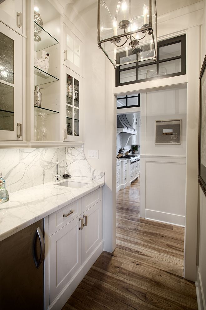 Best Butlers Pantry With White Cabinets Painted In Benjamin 400 x 300