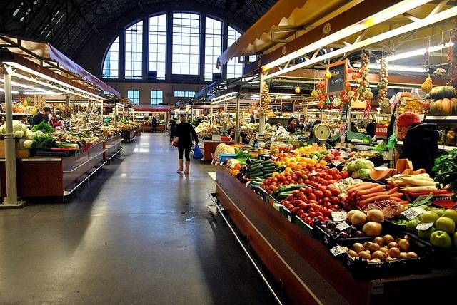 Visit the Central Market Centrāltirgus and eat all the food.