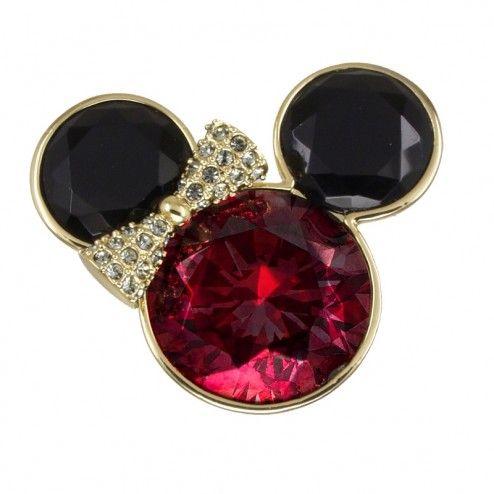 Mawi for Disney Couture Swarovski Crystal Minnie Ring at aquaruby.com