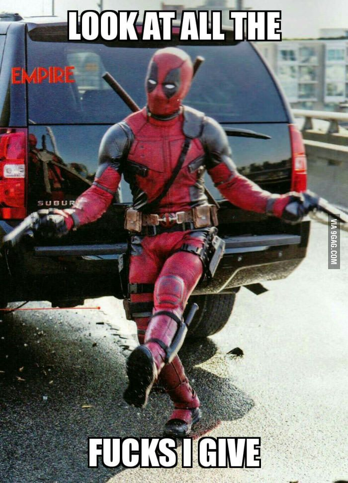 New Deadpool  meme is born