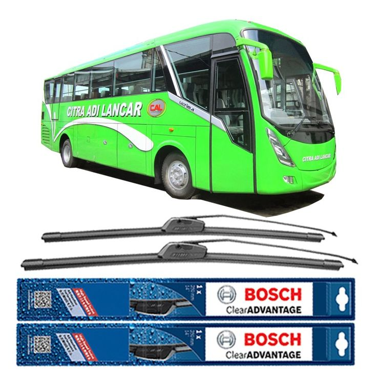 "Bosch Sepasang Wiper Mobil Bus/Bis Tipe Ultima Frameless New Clear Advantage (28"" & 28"" ) - 2 pcs/set  Frameless Umur Pakai & Daya Tahan Lebih Lama Penyapuan kaca yang senyap Performa Sapuan Optimal Instalasi Mudah & Cepat Original Produk Bosch  http://klikonderdil.com/frame-less/1214-bosch-sepasang-wiper-mobil-busbis-tipe-ultima-frameless-new-clear-advantage-28-28-2-pcsset.html  #bosch #wiper #jualwiper #frameless #wiperbus #wiperbis"