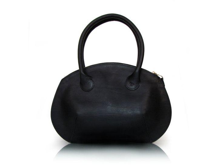 kožená kabelka HONEY z české kůže s prodlouženými uchy na nošení na rameni
