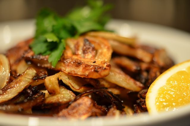 Caramelized Fennel...you had me at caramelized. (Winter)