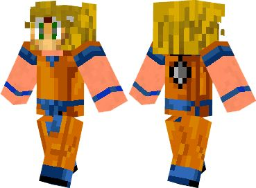 2 ways to install  Son Goku Skin #minecraft #skins #minecraftskins #skinsminecraft | http://niceminecraft.net/category/minecraft-skins/