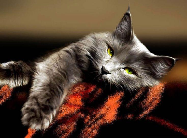 Известные люди о кошках « FotoRelax