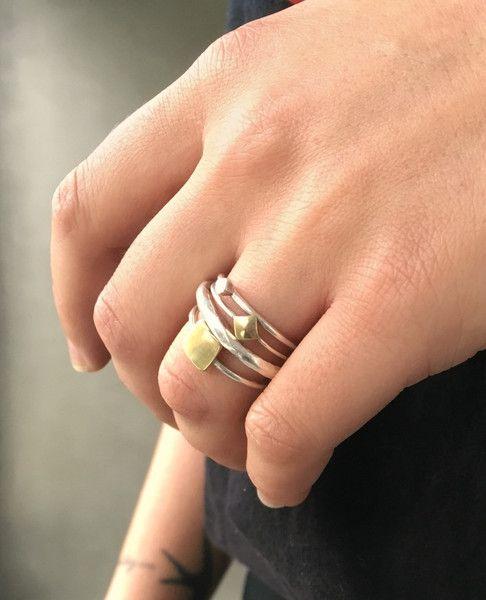 Ring set vierkant
