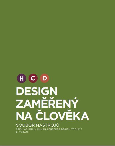 Přebal knihy HCD: Design zaměřený na člověka