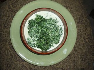 how to make easy creamed spinach