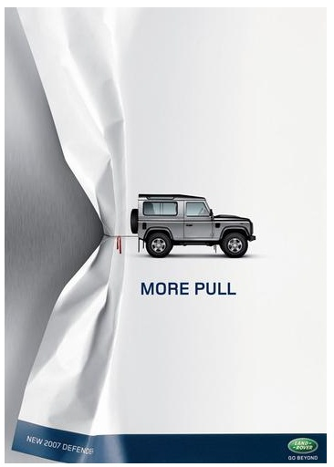 More pull by Land Rover