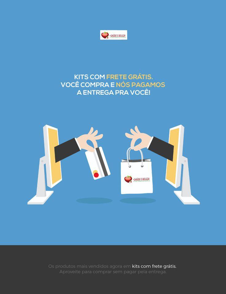 Quer Kits com Frete Grátis? Temos um Especial para Você.  Kit Ômega 3 1000mg - 3 potes com 120 cápsulas http://www.maissaudeebeleza.com.br/p/209/kit-omega-3-1000mg---3-potes-com-120-capsulas?utm_source=pinterest&utm_medium=link&utm_campaign=Kits+com+Frete+Grátis&utm_content=post  Você também pode comprar no WhatsApp (41) 8868-4301   (41) 3022-7393 Seg. à Sex. das 8h às 18h   Sábados das 8h às 12h.