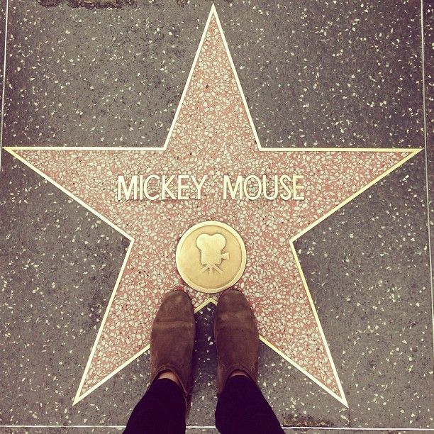 Be a tourist at the Hollywood Walk of Fame