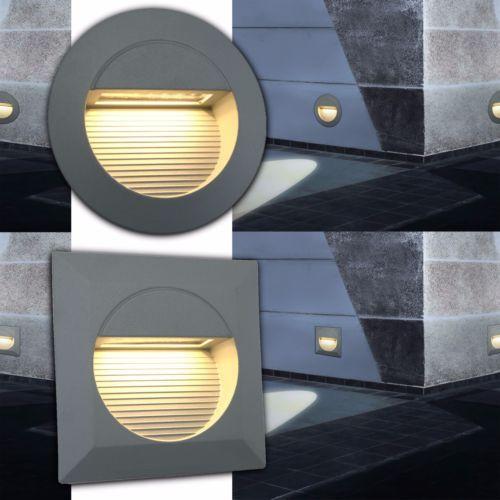 Treppenbeleuchtung-Einbauspot-Einbaustrahler-Treppenlicht-Alu14-LED-1-2W-IP54