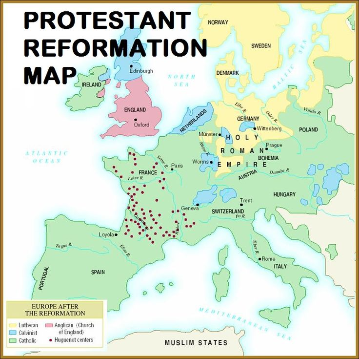 a history of the protestant reformation in the 16th century europe The english reformation was a different reformation than those going on in the rest of europe in england, the king henry vii actually ridded of roman catholicism as the official religion in england.