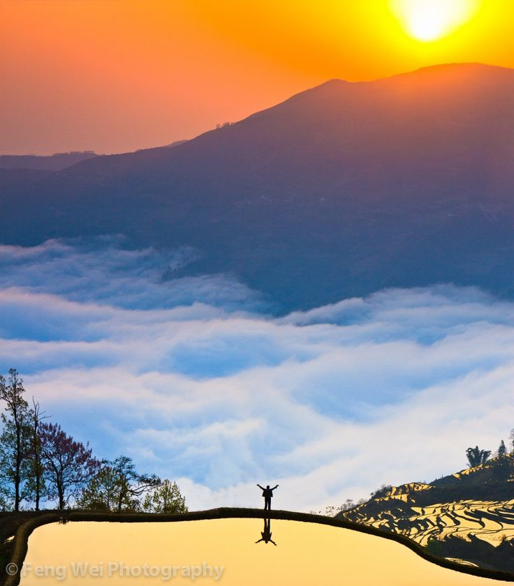 Photograph Brand New Day by Feng Wei on 500px  top of Ailao mountain in Yuanyang, Yunnan province of China