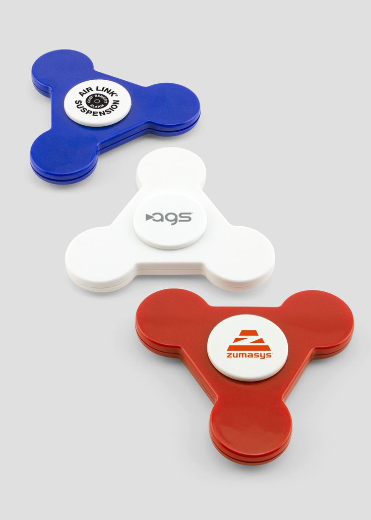 Looking to join in the fidget spinner craze but don't want to overstep your budget? Our Custom Economy Fidget Spinner is the perfect way to promote your custom logo or brand name. Makes a great giveaway item for trade shows or even newly hired employees.
