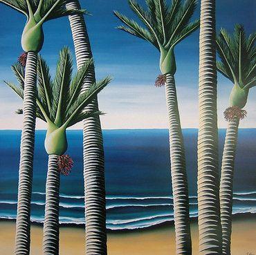 Nikau Palms - Diana Adams  $356