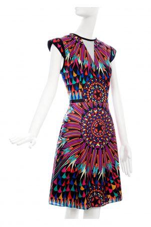 Vestido Art Déco. #Dress #Patterns #PinedaCovalin