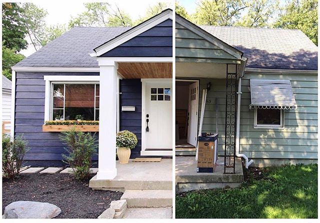 Chesterfield Cottage Reveal: Part 1 {Exterior, Living Room, and Bathroom}
