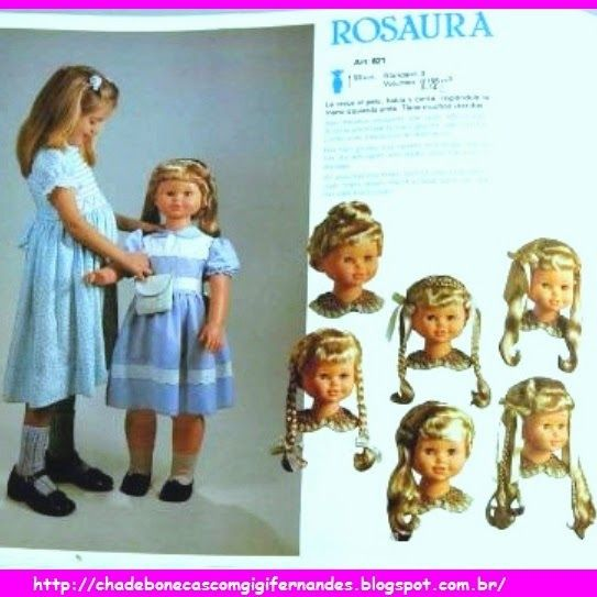 Boneca Rosaura, Jesmar, 1984 #muñeca #Rosaura #Jesmar