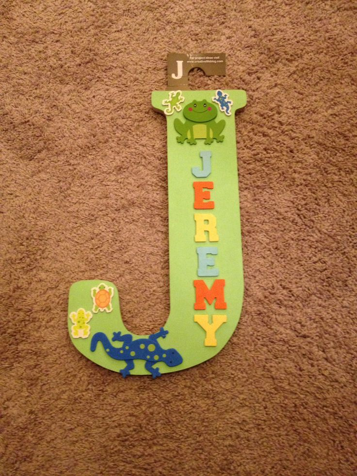 kid craft wooden letters 3