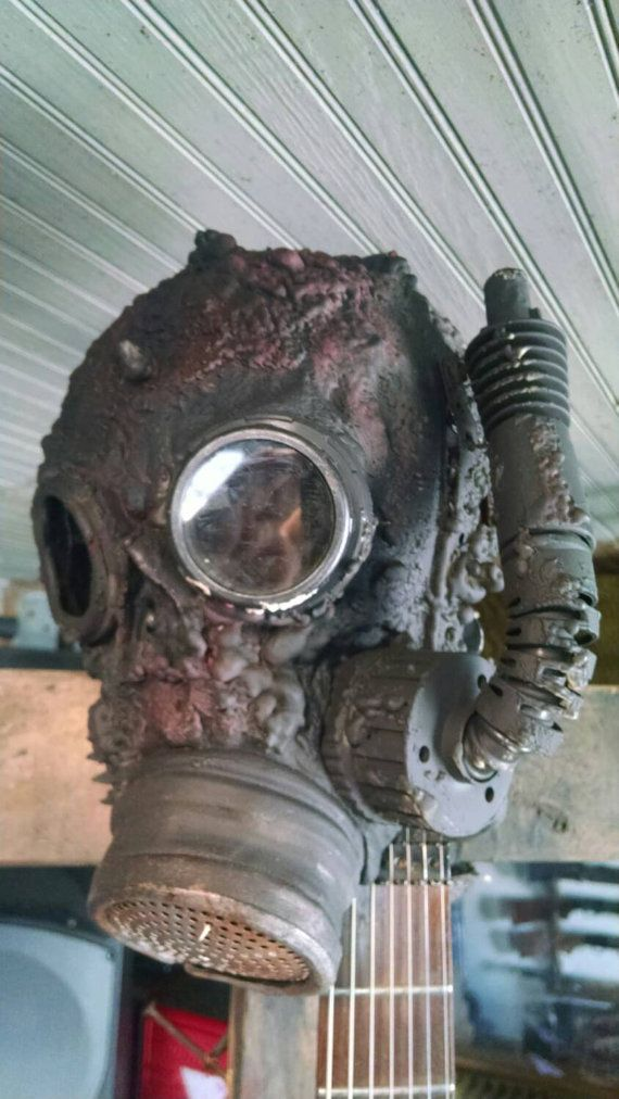 Post Apocalyptic Gas Mask