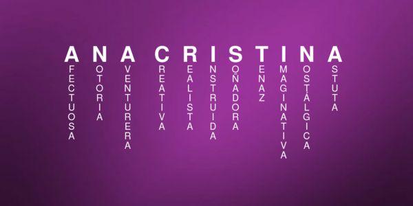 Significado del nombre ANA CRISTINA