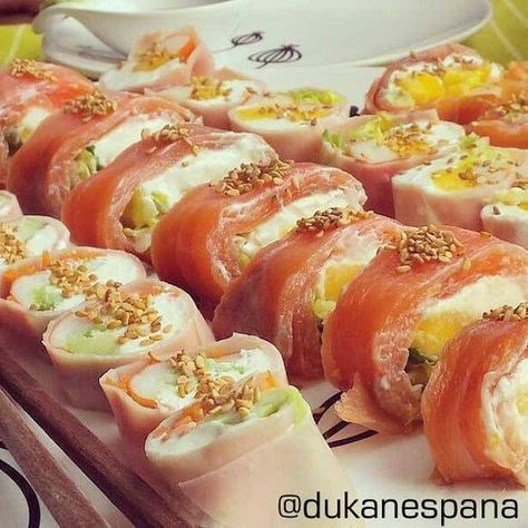 Sushi Dukan, receta sin arroz