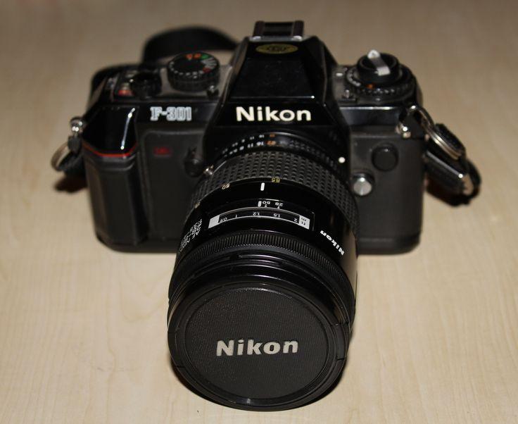 Nikon F-301  Photo By www.nesedentarifler.com