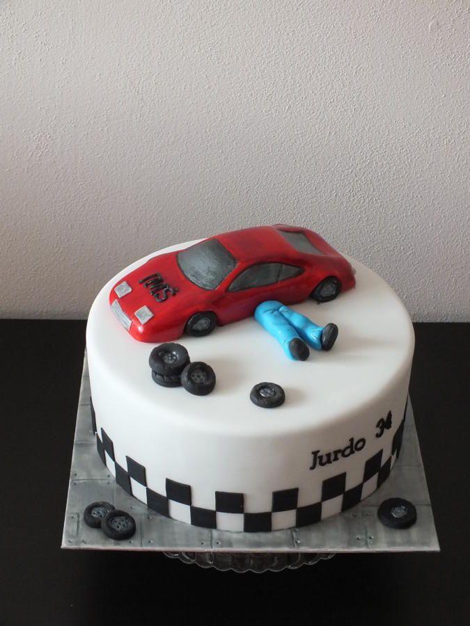 cake for mechanics - Cake by Janeta Kullová