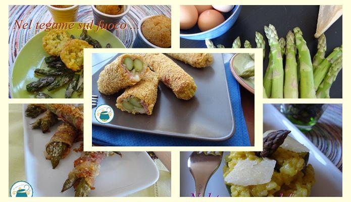 Ricette con asparagi / raccolta di ricette
