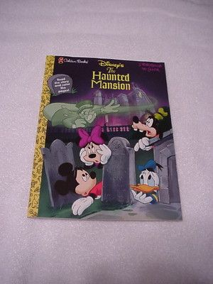 Golden Books Disneys The Haunted Mansion Storybook To Color Coloring Book 1998