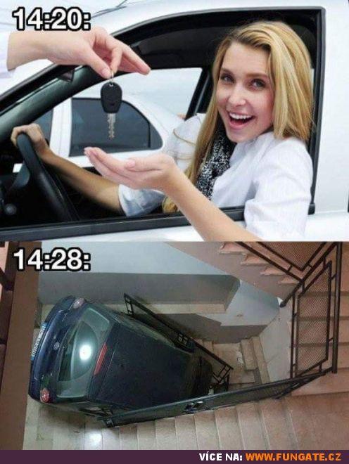 Když ženě půjčíš auto