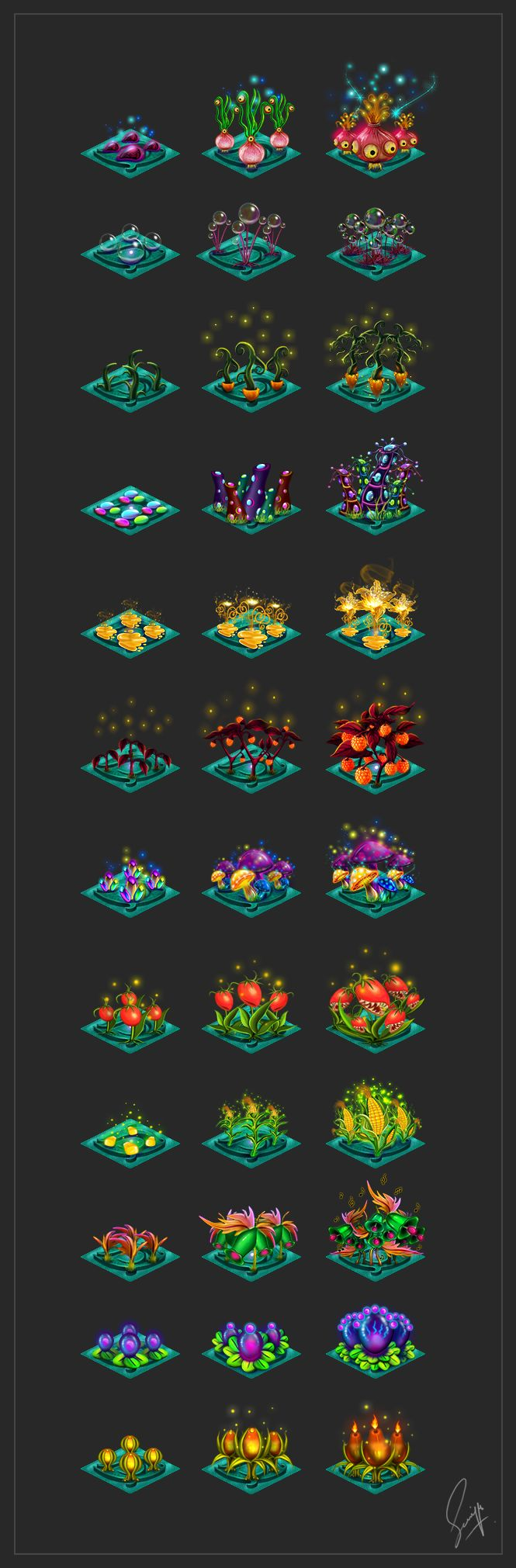 Magical Crops by Saniya Aslam