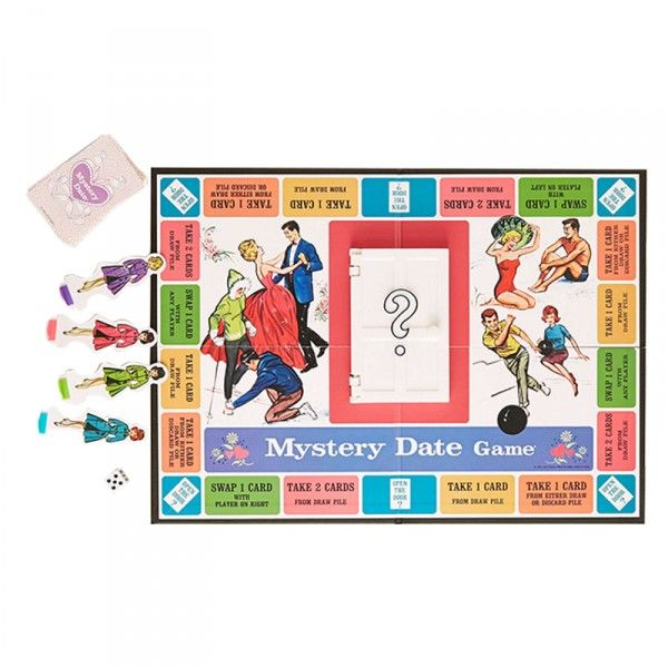 The Best Ways To While Away Thanksgiving Day   The Zoe Report: Mystery Date Nostalgia Edition Game, Urban Outfitters $32