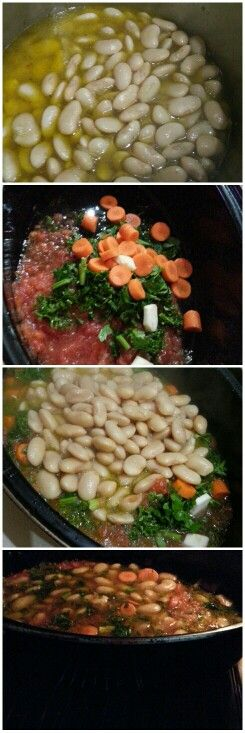 Greek recipe Good Beans take time.... www.lericettedichara.com