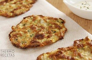 Tortitas de calabacín: | 16 Recetas de cosas que se pueden hornear en vez de freír