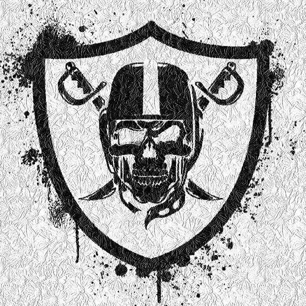 Pin on Oakland raiders football