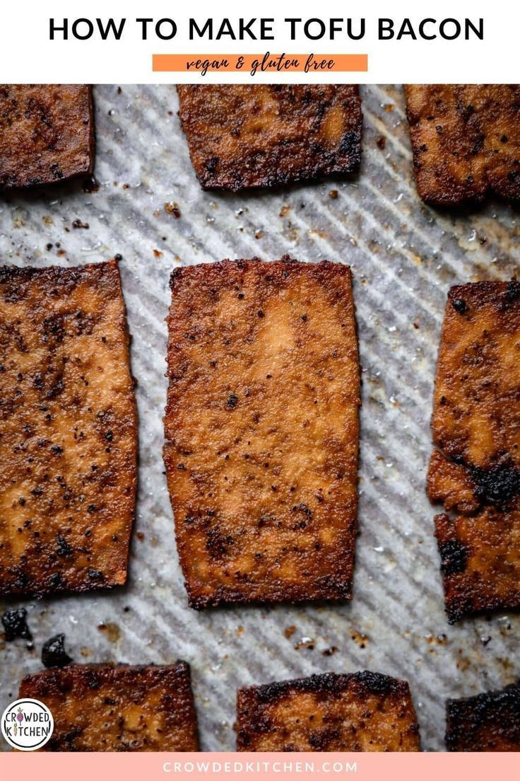 Tofu Bacon Vegan Crowded Kitchen Recipe In 2020 Tofu Homemade Tofu Savory Potato