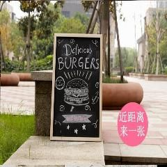 [ 25% OFF ] 1Piece 40Cmx60Cm Wood Magnetic Hanging Advertisement Blackboard Stationery Wholesale Writing Drawing Practise
