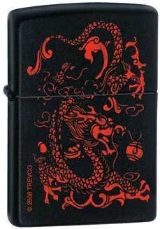 Zippo Red Dragon Black Matte Lighter 6251 -- Visit the image link more details.(This is an Amazon affiliate link and I receive a commission for the sales)