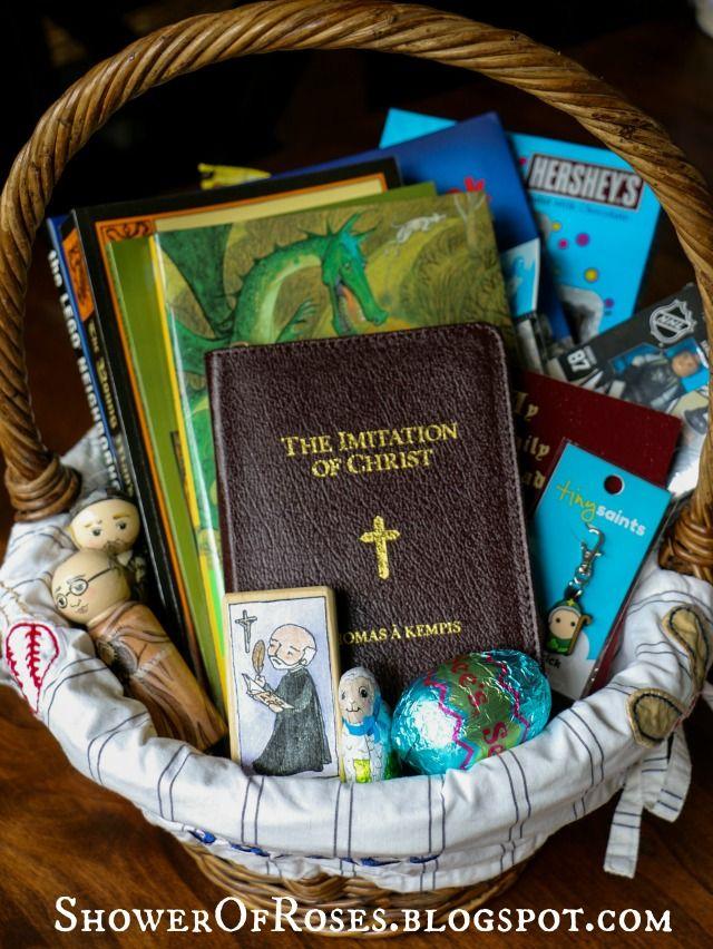 37 best st benedict images on pinterest spirituality roman easter symbols more easter basket stuffers catholic gift ideas plus a basketful of giveaways negle Choice Image