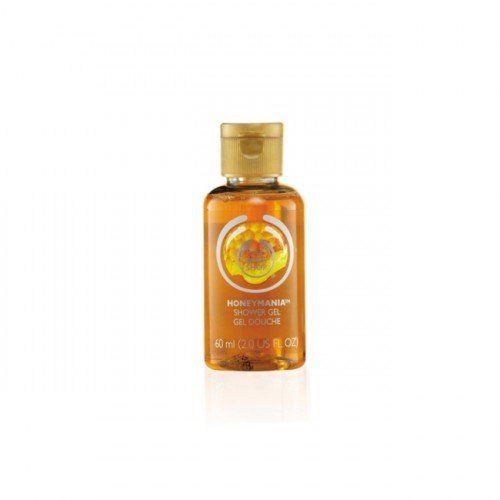 Honeymania™ Shower Gel 60 ml bottle. Travel size.