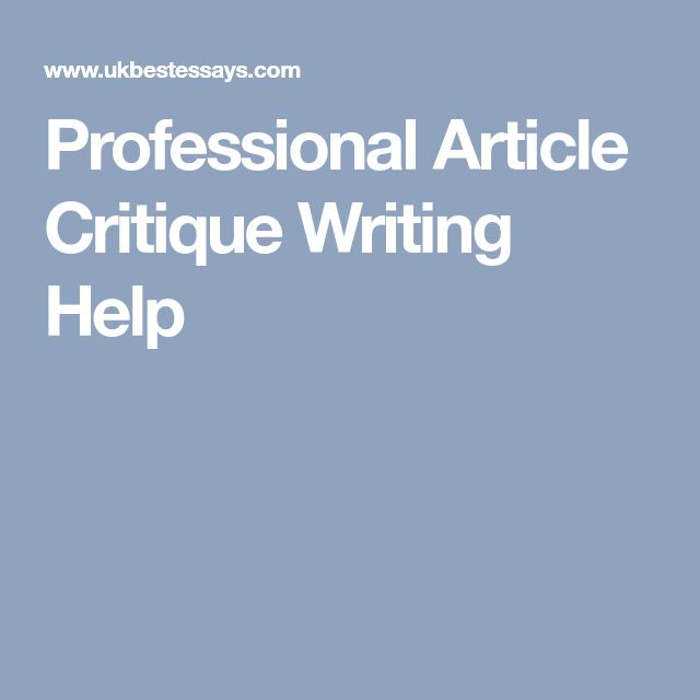 research article critique the professional adjunct the The article starts with an abstract which immediately introduces the reader to the purpose of the research, which was to identify the essential professional values of chinese nurses and their manifestations in the current health-care environment (pang et al, 2009, p 312.