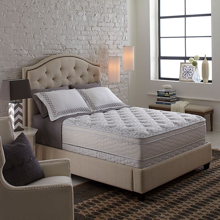 Serta S Plush European Style King Size Pillow Top Conforms To The Body Provide