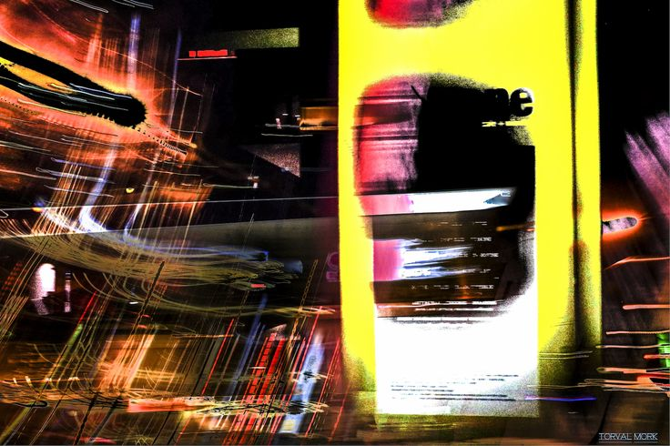 Blended abstract piece composed of various images around Vancouver www.torvalmork.com