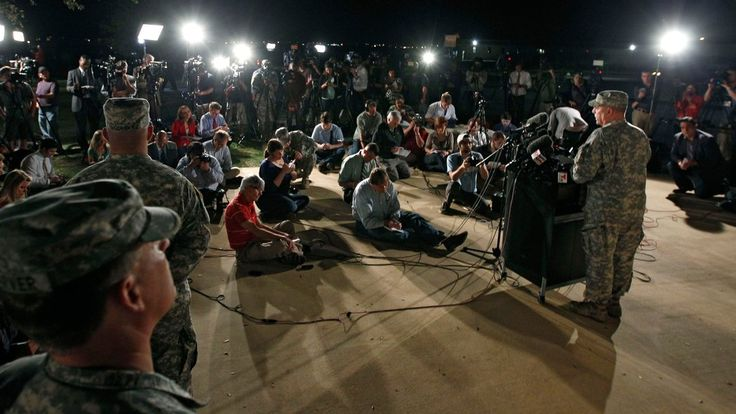 New York Times: April 3, 2014 - Shooting at Fort Hood leaves gunman and three others dead, 16 wounded