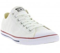 Converse Chuck Taylor All Star Lean Ox Sneaker Weiß 142270C